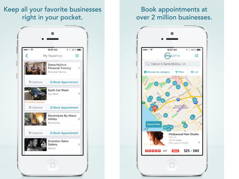 MyTime – Book All Your Appointments Online!