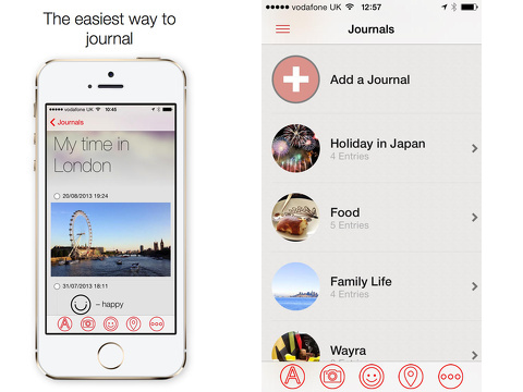 narrato journal iphone app review