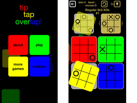 tip tap overlap iPhone app review