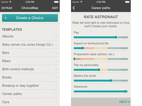 ChoiceMap iPhone app review