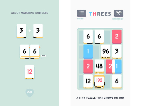 threes iphone app review