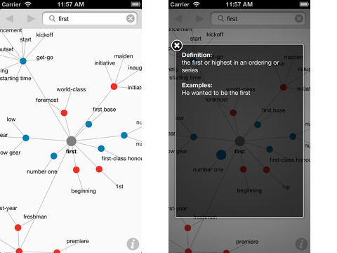 visual dictionary and thesaurus iphone app review