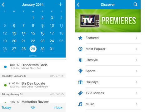 upto calendar iphone app review